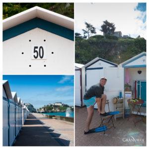Cabine de plage Granville