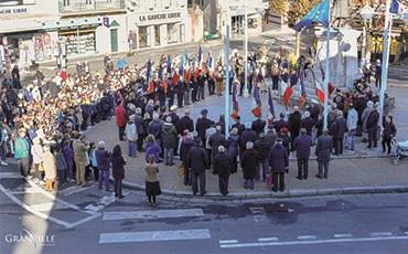 Cérémonie commémorative du Centenaire de l'Armistice à Granville