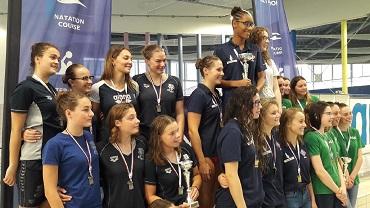 Le championnat régional de natation à Granville