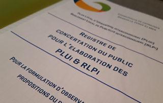 Un registre de concertation du public pour l'élaboration du PLUi est mis à disposition du public à l'Accueil-Etat-Civil de la Mairie de Granville.