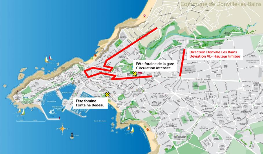 Plan carnaval : déviation zone gare