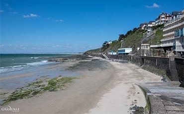 Réouverture des plages de Granville