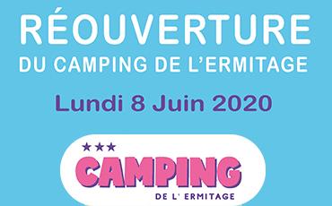 Réouverture du camping intercommunale Granville-Donville, le 8 juin prochain