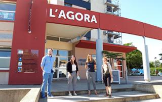 L'équipe de l'Agora prépare l'été.