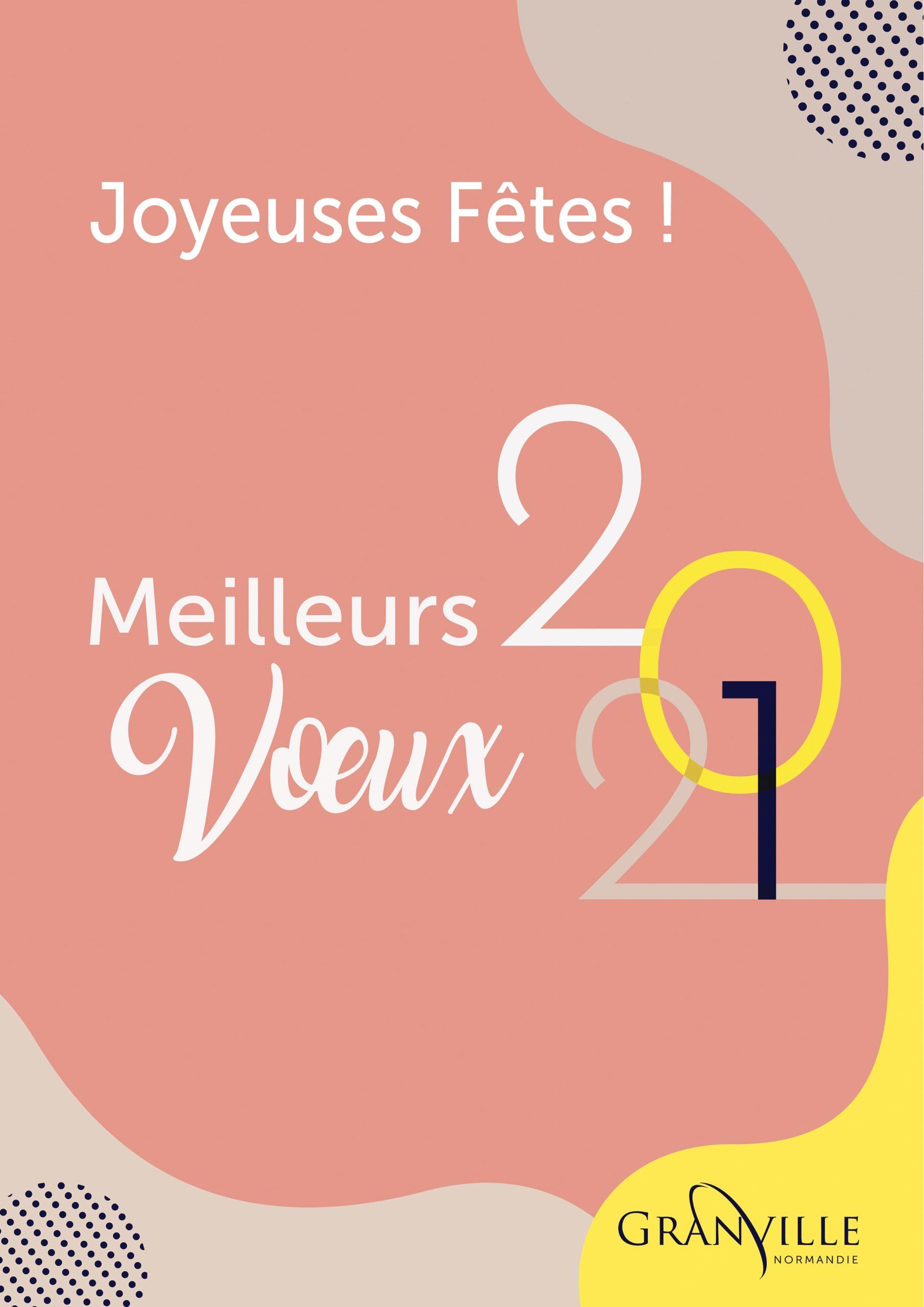 Joyeuses Fêtes et Meilleurs Vœux 2021 !