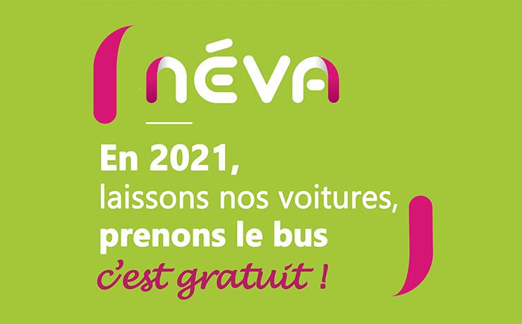 En 2021, à Granville, laissons nos voitures, prenons le bus, c'est gratuit !