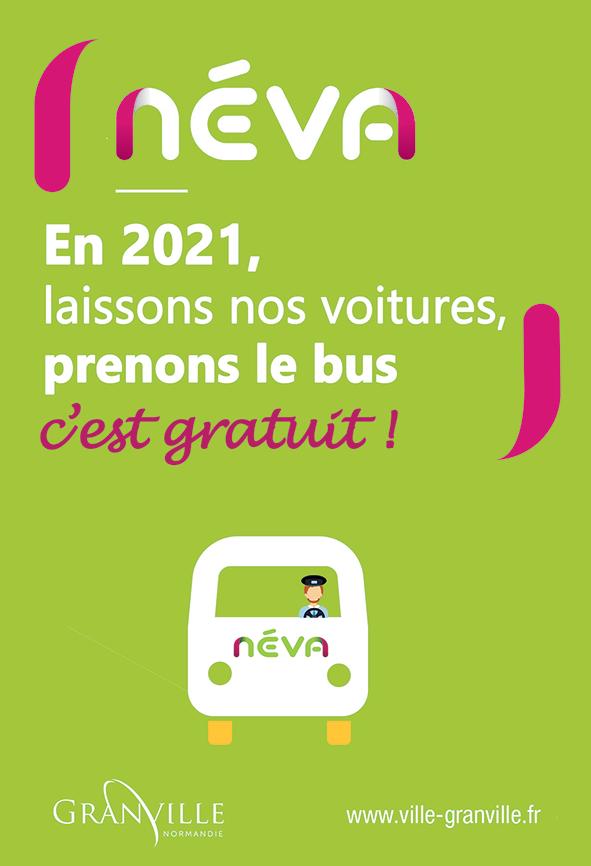 Laissons nos voitures, prenons le bus, c'est gratuit !
