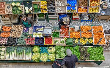 La Ville lance une procédure de concertation sur le projet de règlement des marchés communaux.©Benoit.Croisy-Coll.Ville de Granville