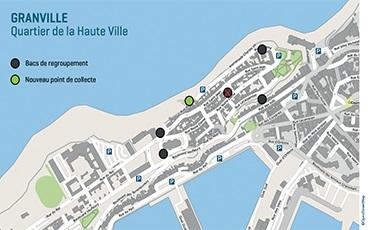 Collecte des déchets dans la Haute Ville : nouveau point de collecte