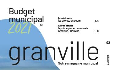 Magazine Granville n°2 daté d'avril 2021