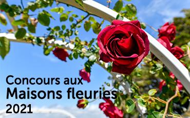 Inscription au concours des Maisons fleuries 2021