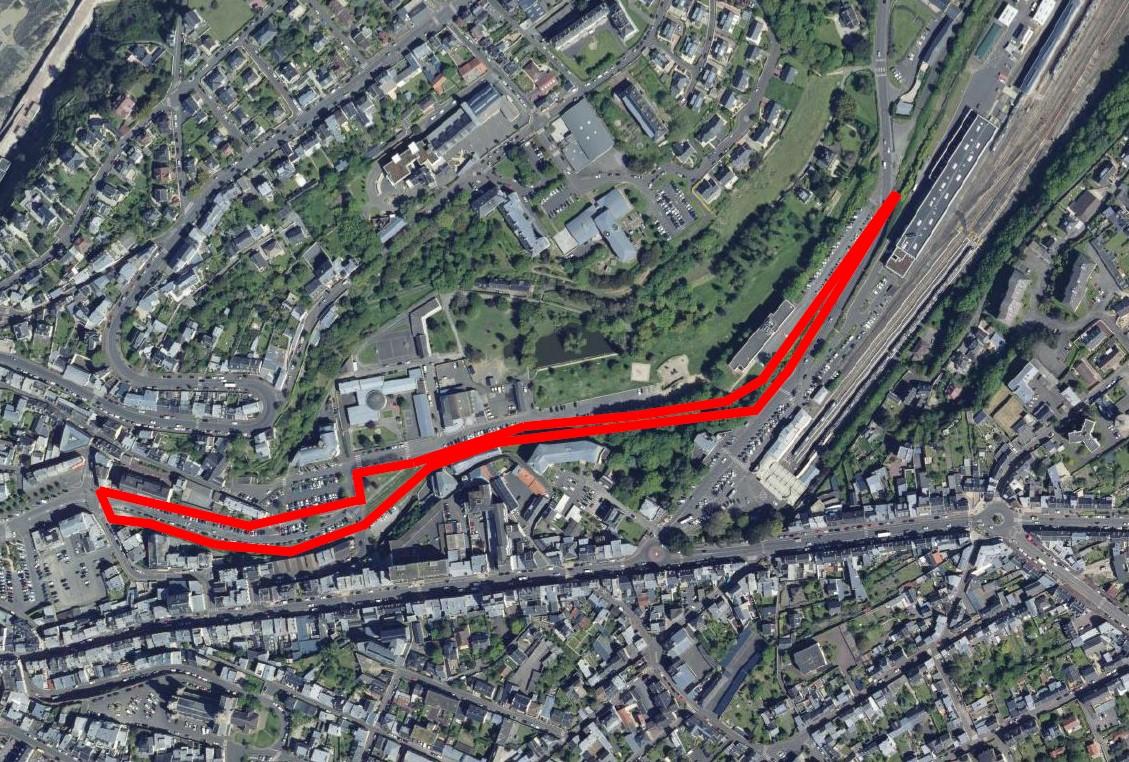 Les travaux de création de la voie douce de 750 mètres reliant le chemin de Choisel, à proximité de la gare, au boulevard d'Hauteserve, en longeant le Val-ès-Fleurs, débuteront d'ici quelques jours.