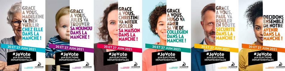 Elections départementales & régionales les 20 et 27 juin 2021