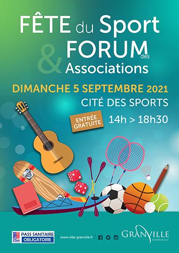 La Cité des Sports accueille la Fête du Sport et le Forum des Associations dimanche 5 septembre 2021