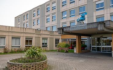Hôpital de Granville. ©Benoit.Croisy - Coll. Ville de Granville