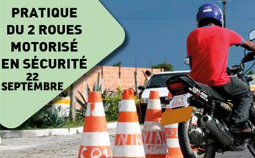 """Action de prévention : """"Pratique du 2 roues motorisé en sécurité"""""""