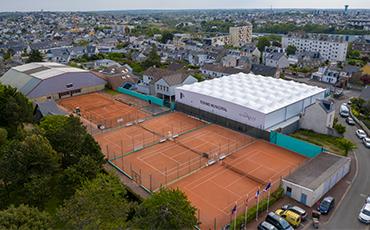 Terrains de tennis de Granville. ©Benoit.Croisy - Coll. Ville de Granville