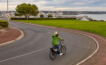 Baromètre des villes cyclables 2021. ©Benoit.Croisy - Coll. Ville de Granville